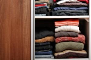 sweater storage solutions